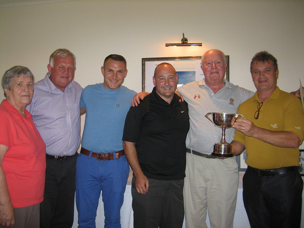 2012 Golf Day Cupwinners
