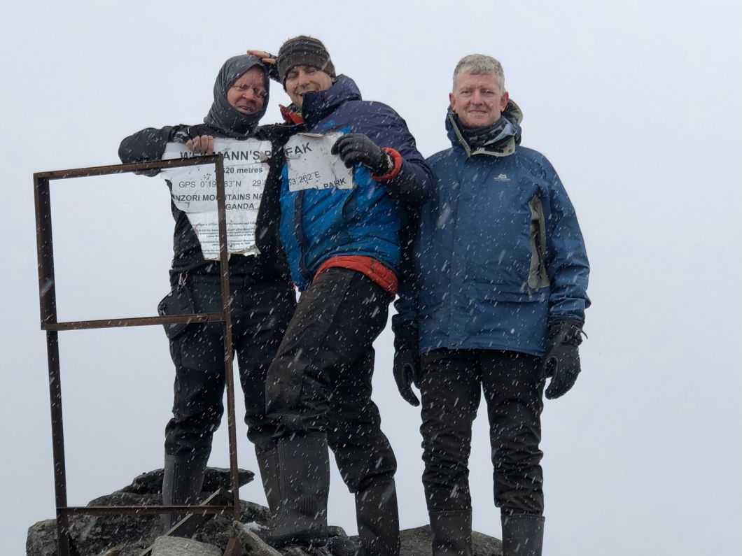 Ruwenzori summit